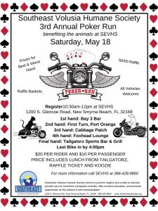 Poker Run @ Southeast Volusia Humane Society